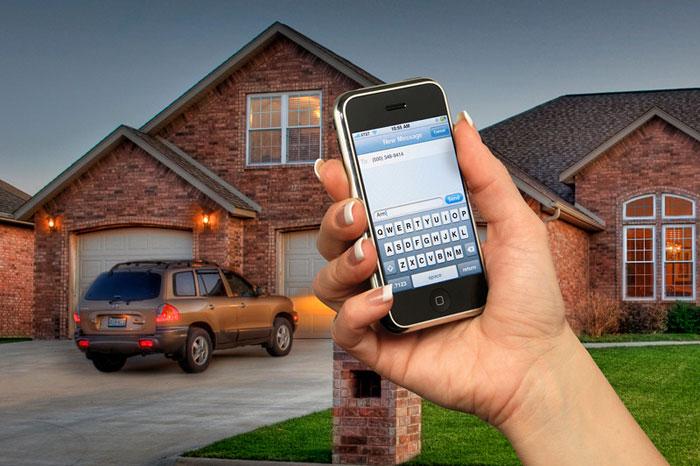 Virtual keypad app securing home - EEI Security